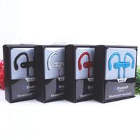 ms telefonlar toptan satış-MS-B7 Bluetooth Kulaklık Kulaklık Stereo Spor Koşu için Mikrofon ile Kablosuz Kulaklık Telefon ile perakende kutusu