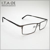 cc564fa3be Wholesale- ITAOE 8808 Full Rim Brand Business Style Titanium Men Male  Myopia Reading Optical Eyewear Frames Glasses Spectacles