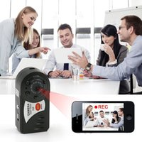 Wholesale Ip Camera Iphone Support - Mini P2P WiFi IP Camera HD DVR Hidden Spy Camera Video Recorder Indoor   Outdoor Motion Detection Security Support iPhone Android
