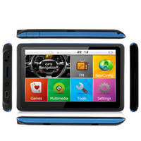 Wholesale Ddr 256mb - 5 inch Touch Screen Car GPS Navigation Bluetooth AVIN FM 800MHZ DDR 256MB 8GB Vehicle Truck SAT NAV Maps