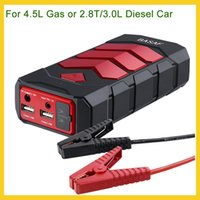 Wholesale Emergency Car Starter - US Stock High capacity 600A Car jump starter emergency car battery charger portable car battery booster power bank pack for 4.5L 2.8T 3.0L