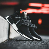 Wholesale Latest Leather Shoes For Women - Latest NMD XR1 Mastermind Japan X mmj master mind boost Primeknit PK black for men women Running Shoes Sports Shoes sneakers Size 36-44