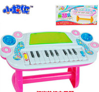 Wholesale Music Piano Animal Farm - Wholesale- Wholesale Baby Kid's Animal Farm Mobile Piano Smart Music Toy Electric ENGLISH Early  Xmas Gift