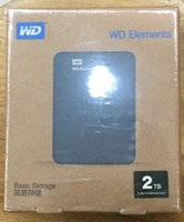 "Wholesale 2tb Portable Hard Drive - 2TB external portable hard drive disk USB 3.0 2.5"" External Hard Drive Black"