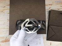 Wholesale Automatic Letter - Wholesale variety of styles of high quality leather belt designer waistbands brand belts with brown box