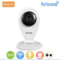 teste de cctv venda por atacado-Sricam SP009 Câmera HD 720 P IP Sem Fio CCTV Segurança ONVIF IP Câmera P2P para Visualização Móvel Suporte IOS / Android