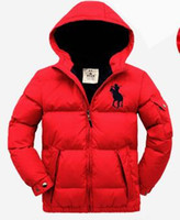 Wholesale White Winter Coats For Baby - Children's clothing 2017 male child down coat thickening outerwear jackets for boys kids outerwear baby jackets