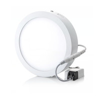 Round Square Led Surface Mounted Dimmable Panel Light 6W 12W 18W 25w 30w 36w Downlight lighting Ultra-bright ceiling lamp 110-240V