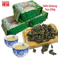 Wholesale Promotion Milk Tea - C-WL015 Promotion 250g Milk Oolong Tea High Quality Tiguanyin Green Tea Taiwan jin xuan Milk Oolong Health Care Milk Tea