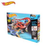 Wholesale Hotwheels Cars - Christmas gifts wind wheel Hotwheels small sports car electric city car track orbital CDR08 toys