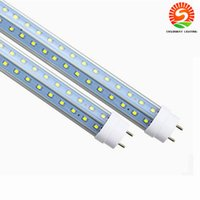 Wholesale Nature Accessories - CREE G13 R17D T8 Led Tube Light Double Sides 4ft 5ft 6ft 8ft Cooler Lighting Led Lights Tubes AC 85-265V With All accessories