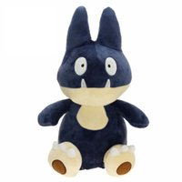 Wholesale 37cm Size - NEW Munchlax Pocket Monsters Pikahcu Plush Doll Stuffed Animals Toy For Baby Gifts ( 5pcs Lot   Size : 37cm )