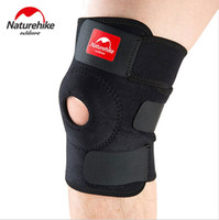 Wholesale Elastic Brace Guard Support Sports - NatureHike Adjustable Elastic Knee Support Brace Kneepad Patella Knee Pads Hole Sports Kneepad Safety Guard Strap For Running
