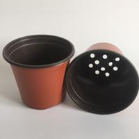 Wholesale Floor Resistance - D12XH11CM Flower tub caliber corrosion resistance postoral plastic flower pots plastic Nursery pots Garden Pots SF-094-12