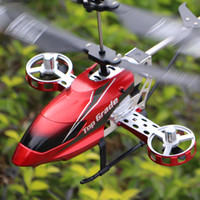 Wholesale Rc Mini Outdoor Helicopter - 4.5CH Electric Outdoor Mini RC Helicopter Drone With Remote Control LED Light Children Kid Toys Gift