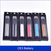 Wholesale Vapor Oil Cigarette - best quality BUD Battery CE3 O-pen Touch Pen 280mAh Vapor pen 510 e cigarettes for Wax Oil Cartridge Vaporizer