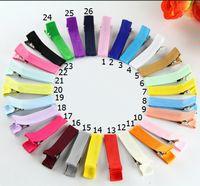 pinzas para el cabello forradas de cinta al por mayor-240 unids / lote 1.8