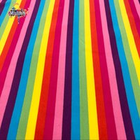 Wholesale German design cloth Lycra cotton fabric four way stretch stripes sky DIY apparel Sewing Patchwork child clothes quilts home