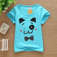 Wholesale Cotton T Shirt Kids - 2017 kid cloth ,Short sleeve t-shirt code JJ