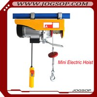 Wholesale Portable Electric Hoist kg V HZ Mini Electric Wire Rope Hoist