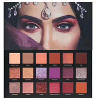 Wholesale Cosmetic Pallete - new beauty DESERT DUSK Eyeshadow 18 colors Pallete Shimmer Matte Eye shadow Pro Eyes Makeup Cosmetics free DHL