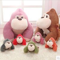 as pic orangutan babies - quot CM Lovely King Kong Gorilla Orangutan plush toy Doll Cartoon Animal Baby Toy for Children Gifts Wedding Gifts Video City