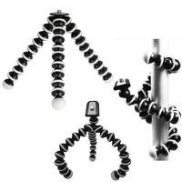 evrensel tripodlar toptan satış-Büyük Evrensel Ahtapot MINI Tripod Standı Esnek Gorillapod Tripodlar Stander Kamera iPhone 6 6 S Samsung Android Telefon için ADEDI; 1 ADET