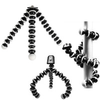 flexibles stativ für iphone großhandel-Große Universal Octopus MINI Stativ Ständer Flexible Gorillapod Stative Stander für Kamera iPhone 6 6S Samsung Android Phone MOQ; 1PCS
