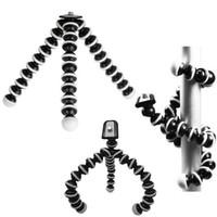 mini-oktopus flexibles kamerastativ großhandel-Großer Universal-Krake MINI Stativständer Flexible Gorillapod Stative Stander für Kamera iPhone 6 6S Samsung Android Phone MOQ; 1PCS