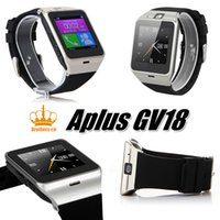 Originale Aplus GV18 Smart Health Watch videocamera NFC SIM Smartwatch MP3 per Apple Phone Samsung Android