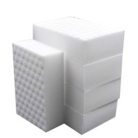 Wholesale Car Supplier - 10*7*3cm 10pcs High quality double compressed kitchen cleaning melamine sponge magic eraser cleaning accessory supplier for dish washing car