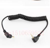 Wholesale Flash Camera Sync Cord - Wholesale- Camera FLASH PC line Sync Cable Cord C1 For 60D 450D 500D 550D 600D 650D 700D 1000D 1100D 100D