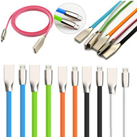 Micro USB black node - 10pcs Micro Usb A Cable M D Zinc Alloy Nodes Mobile Phone Quick Data Sync Charger Charger For Samsung Sony Xiaomi Huawei