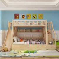 children beds hot sale new design solid wood bunk bed for kid bed children kids bunk bed