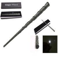 Wholesale Harry Potter Lord Voldemort Wand - Led Light Harry Potter Sirius Black Magical Wand New in Box Lord Voldemort Hermione Dumbledore Magical Wand free shipping in stock