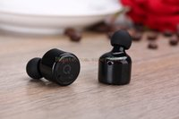Wholesale Cell Phone Listening - X1T Wireless Bluetooth Headset Binaural Bilateral Stereo Listen to Song Call Sport Jog Bluetooth Free Shipping