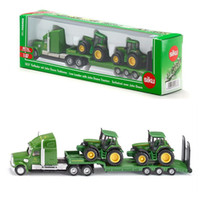 Wholesale Collection Cars - Free Shipping Siku 1:87 Diecast Car Model Platform Truck and Lorry Tractor Educational Collection Toy for children Gift