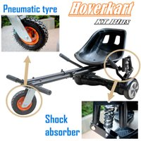 Wholesale Electric Scooter Carts - US STOCK Adjustable Hoverboard Go Kart Equipment for 6.5 8 10 inch hover board Best Electric Scooter Skateboard Cart Attachments Accessories