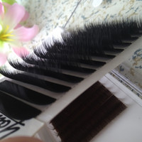 Wholesale lash factory online - Real Volume Eyelash Extensions Mixed fans Lash Eyelashes D D rows tray Volume Fans Youcoolash Factory Big Promotion