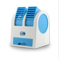 fan de la fragancia al por mayor-Respetuoso del medio ambiente 6 color Mini Perfumes USB Refrigeración ventilador portátil de escritorio sin cuchilla de ventilador de refrigeración del acondicionador de aire con el empaquetado al por menor
