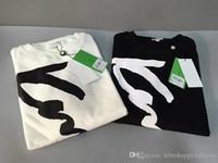 Wholesale Men S Business Leisure Shirts - Paris Fashion Tiger Brand Black White Letter Printing Men Women Business Leisure Sweatshirts 100% Cotton Autumn Shirts Jogger Sports Jumpers
