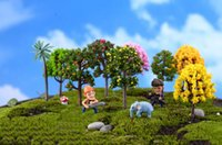 ingrosso miniature garden gnome-10 Pz Variation Mini Albero Pianta Junly Moss Gnome In Miniatura Fata Giardino Casa Prato Terrario Muschio Pot Resina artigianato Jardin Decor