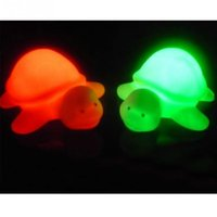 Wholesale Turtle Light Wholesale - Wholesale- Kids Bedroom Night Lighting Lamp 7 Colours Changing Night Light Turtle Shaped Night Lights Party Christmas Decoration Light