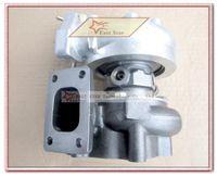 t25 brida turbo al por mayor-T25 T28 T25T28 T25 / 28 Turbo Turbo Turger Turbo Para Nissan S13 S14 S15 comp .60 turbina .64 a / r Brida T25 enfriada por agua