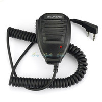 Wholesale Mic Baofeng Uv5r - Baofeng Handheld Microphone Speaker MIC for walkie talkie UV-5R Portable CB radio for UV5R UV-B5 BF-888S UV-82 KD-C1