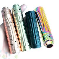 große elektronik großhandel-Neueste Sebone Mod Kit 24MM Elektronische Zigarette mit 5 großen Entlüftungsöffnungen 510 Anschluss 4 Farben Hohe Qualität DHL-frei