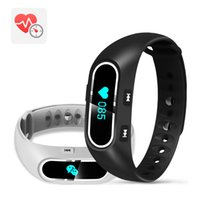 Großhandel-Neue Smart Band Armband H3 Herzfrequenz-Monitor Wristband Schlaf Fitness Tracker für Android Smart Armband PK TW64 ID107 Smartband