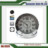 Wholesale Security Camera Dvr Prices - C520 alarm clock hidden camera 720*480 Pinhole camera mini DVR Clock Security Security Hidden Camera with factory price