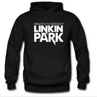 linkin park suéter venda por atacado-Frete Grátis Homens e mulheres outono e inverno camisola hoodie maré personalidade Lincoln Park Linkin Park Rock jaqueta camisolas