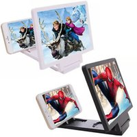 Wholesale Video Display Stands - Mobile Phone HD AMPLIFIER 3D movie Display Video Screen Amplifier Portable Foldable Enlarged Stand Holder Useful